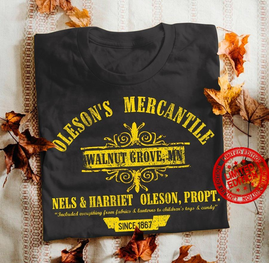 Oleson's Mercantlle Walnut Grove Nels And Harriet Oleson Shirt